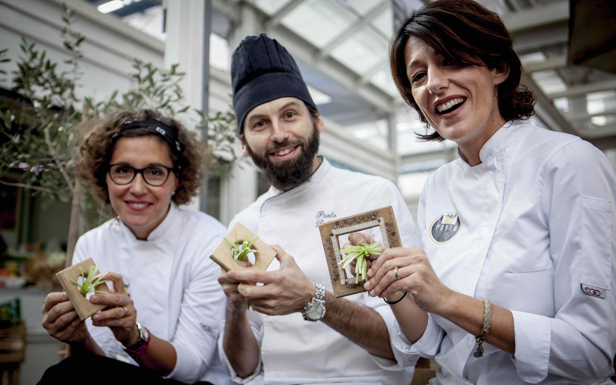 Pasta Team al Mercato di Testaccio - ©Raffaella Midiri Photographer